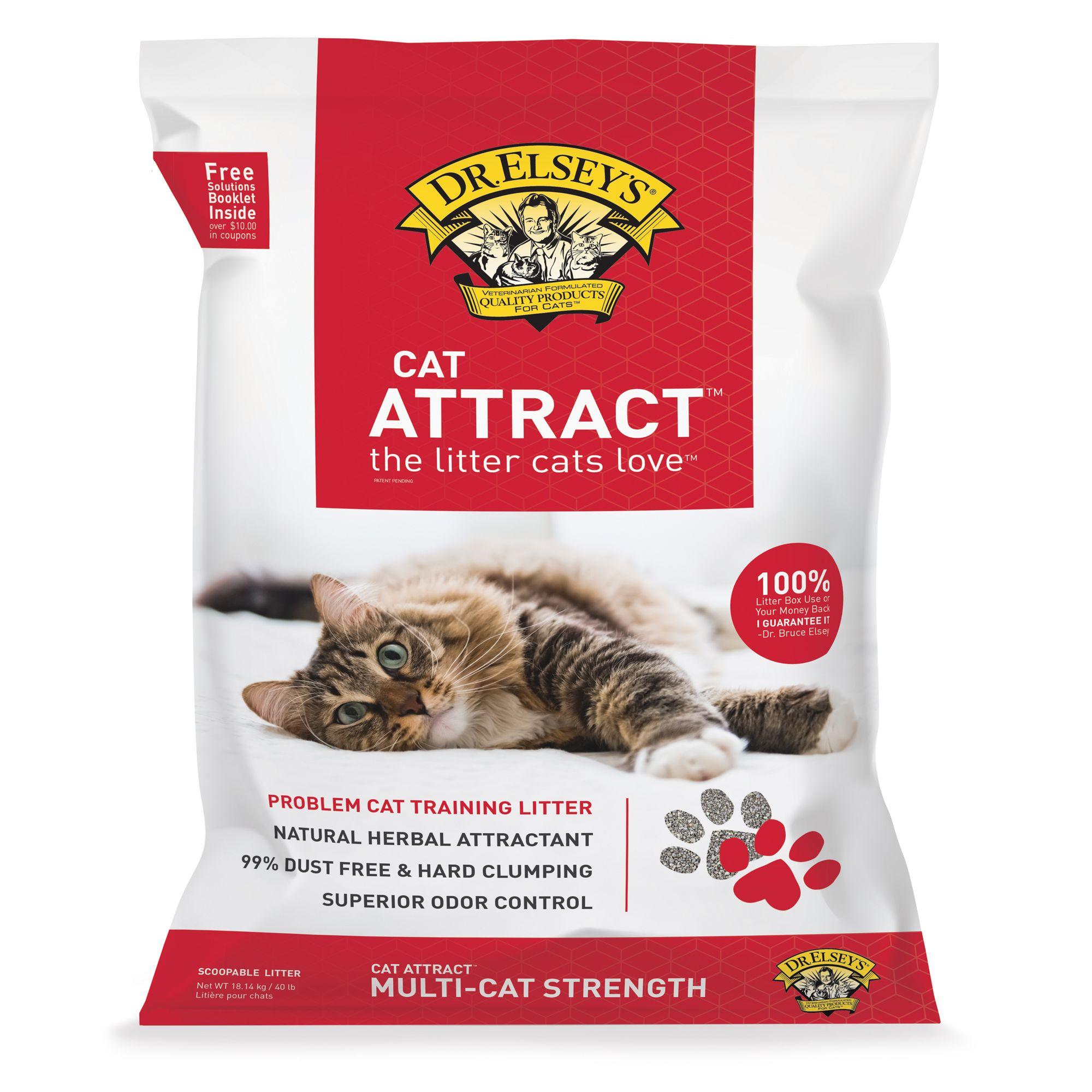 Dr Elsey S Precious Cat Attract Cat Litter Clumping Multi Cat Strength Cat Litter Petsmart