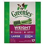 GREENIES® Weight Management Large Dental Dog Treat