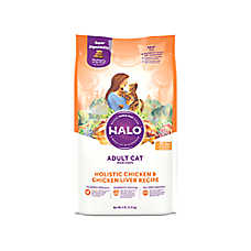 HALO® DreamCoat Adult Cat Food - Natural, Holistic Chicken & Chicken Liver Recipe