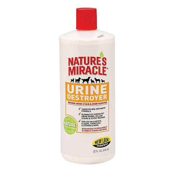 Nature 39 s miracle pet urine destroyer dog stain odor for Fish odor urine