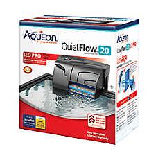 Aqueon® QuietFlow Aquarium Power Filter 20