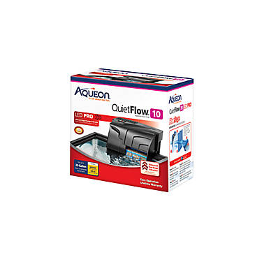 Aqueon quietflow aquarium power filter 10 fish filters for Petsmart fish filters