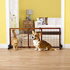 Top Paw® Adjustable Stand Alone Pet Gate