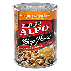 Purina® ALPO® Chop House Dog Food - Rotisserie Chicken