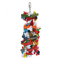 All Living Things® Knots & Blocks Bird Toy