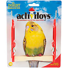 JW Pet® Insight Activitoys Double Mirror Bird Swing
