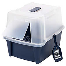 IRIS Easy Clean Hooded Litter Box
