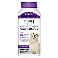 21st Century™ Essential Pet™ Senior Chews™ Daily Multi-Vitamin & Mineral Dog Chewa