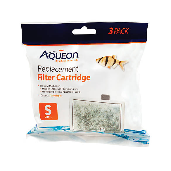Aqueon replacement aquarium filter cartridges fish for Petsmart fish filters