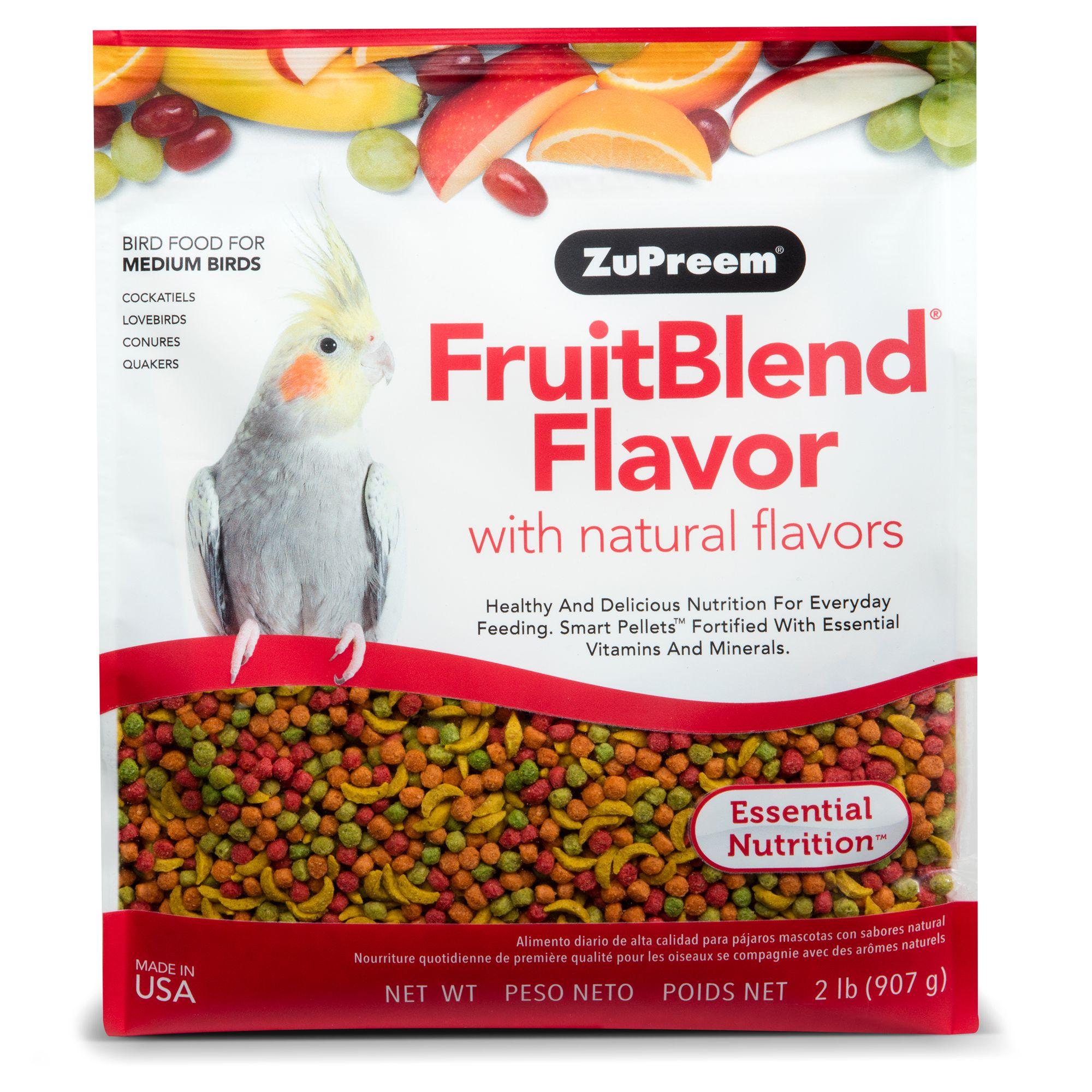 ZuPreem® FruitBlend Medium Bird Food