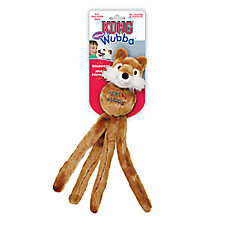 KONG® Wubba™ Friends Dog Toy - Plush, Squeaker (CHARACTER VARIES)