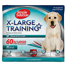 Simple Solution® Oversized Training Dog Pads