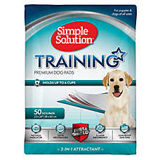 Simple Solution Training Dog Pads