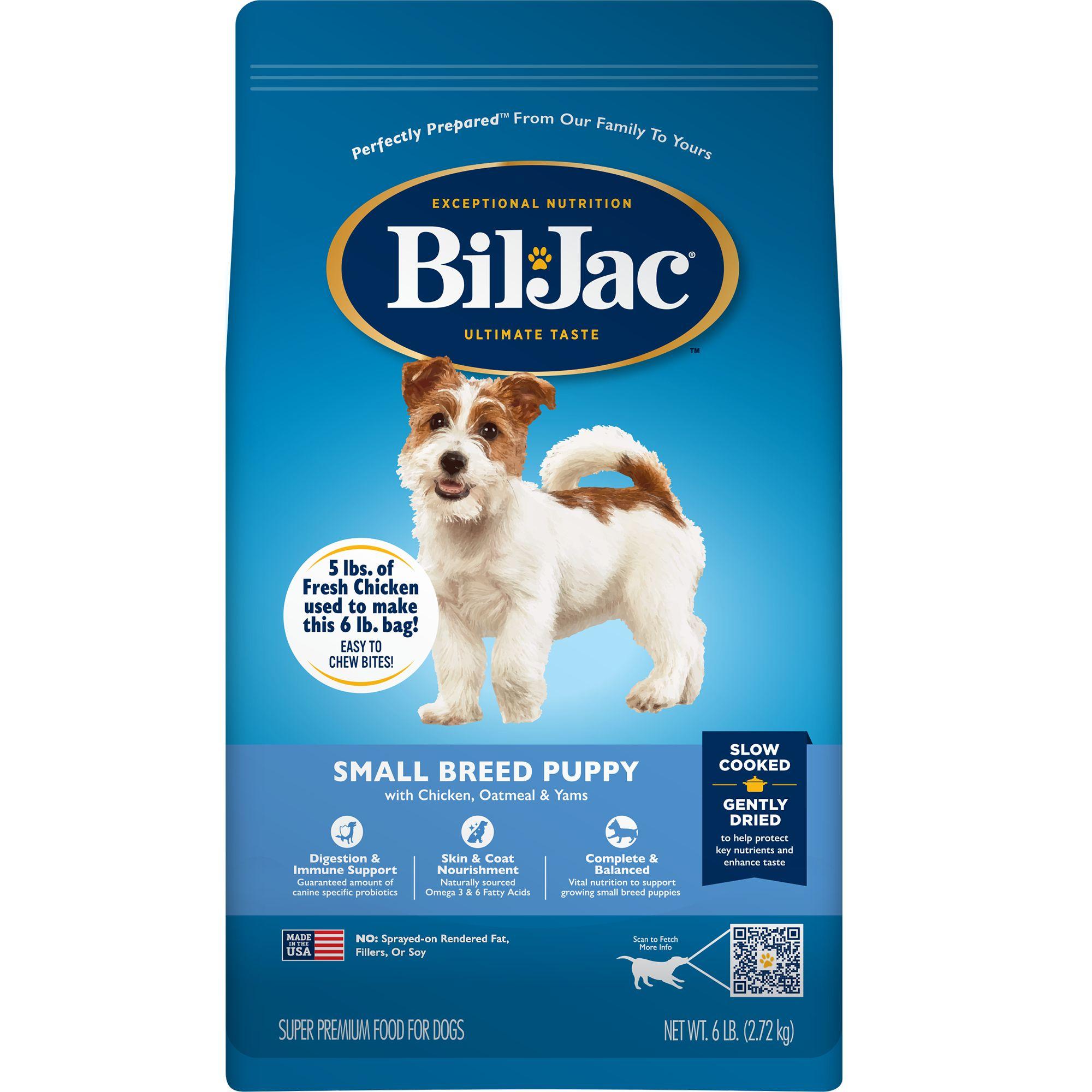 Bil-Jac® Small Breed Puppy Food | dog