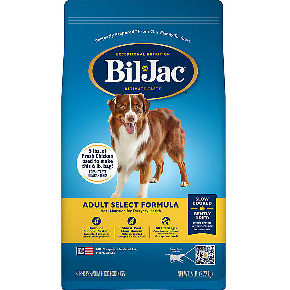 Bil Jac Select Adult Dog Food Chicken Dog Dry Food Petsmart