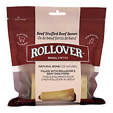 Rollover Roasted Stuffed Beef Bones Premium Dog Treats