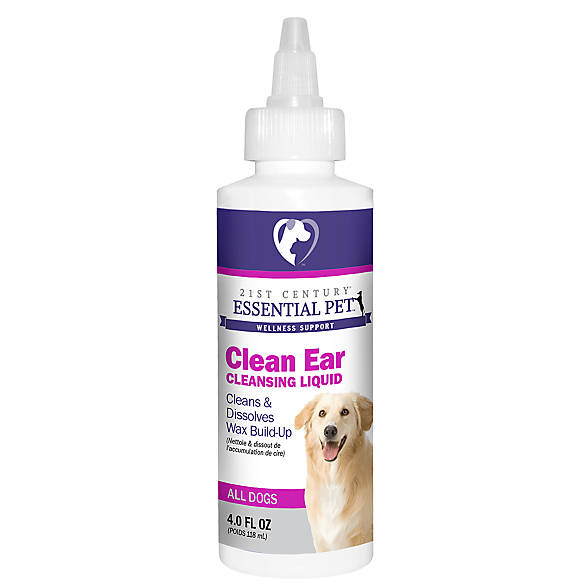 21st Century™ Essential Pet™ Clean Ear Cleansing Dog