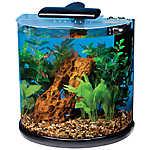 Marineland® 10 Gallon Half-Moon Desktop Aquarium