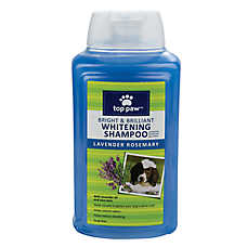 Top Paw™ Bright & Brilliant Whitening Dog Shampoo - Lavender Rosemary Scent