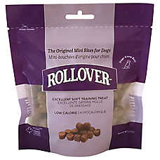 Rollover Mini Bites Premium Dog Treat - Liver
