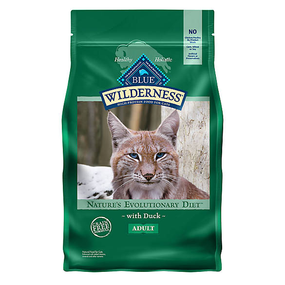 Blue Wilderness 174 Grain Free Duck Adult Cat Food Cat Dry