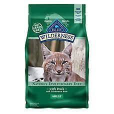 BLUE Wilderness® Grain Free Duck Adult Cat Food