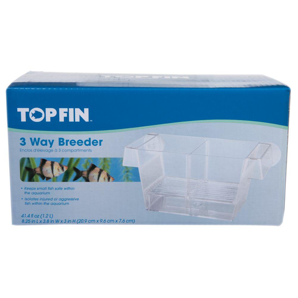 Top Fin 3 Way Aquarium Breeder Fish Breeders Nets Petsmart