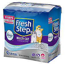 Fresh Step® with Febreze Multi-Cat Litter - Clumping