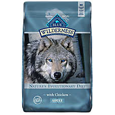 BLUE Wilderness® Adult Dog Food - Grain Free, Natural, Chicken