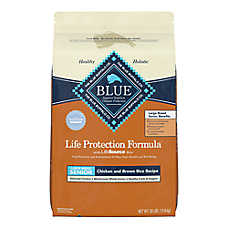 BLUE Life Protection Formula® Large Breed Senior Dog Food - Chicken & Brown Rice