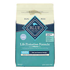 BLUE Life Protection Formula® Large Breed Adult Dog Food - Fish & Oatmeal