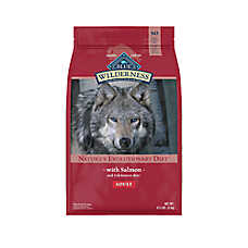 BLUE Wilderness® Adult Dog Food - Grain Free, Natural, Salmon