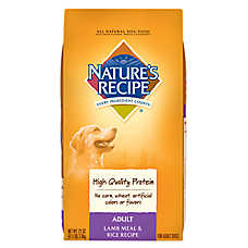 NATURE'S RECIPE® Adult Dog Food - Natural, Lamb Meal & Rice