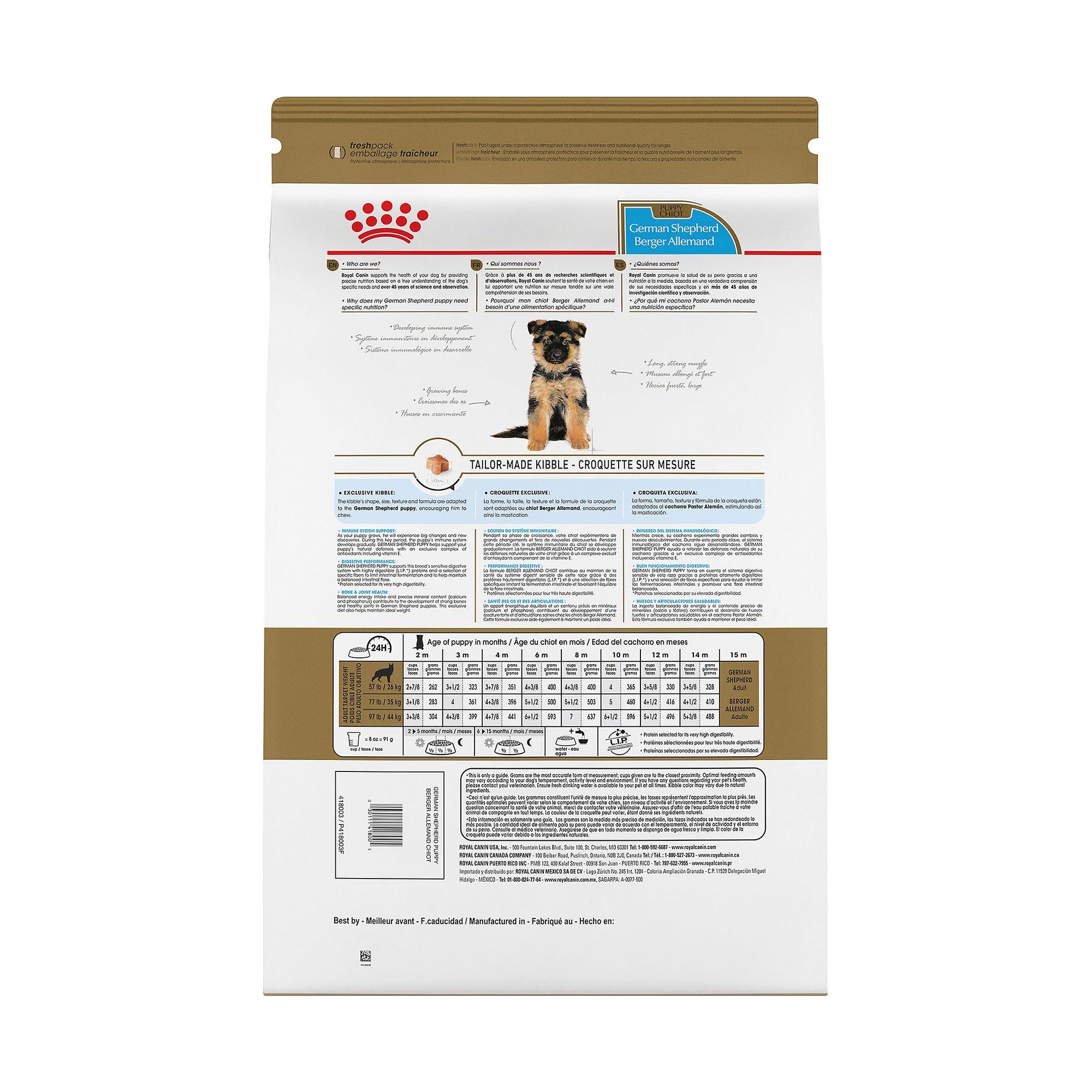 Royal Canin Breed Health Nutrition Trade German Shepherd Puppy Food Dog Dry Food Petsmart