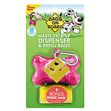 Bags on Board® Bone Pet Waste Pick Up Bag Dispenser