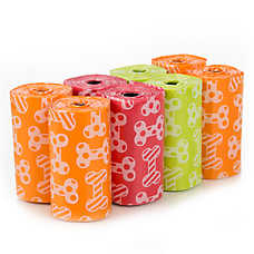 Top Paw® Fresh Citrus Blend Scented Waste Pick Up Bags