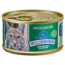 sale $1.25 ea. when you buy 12+ entire stock BLUE Wilderness® cat food, 3 oz. cans