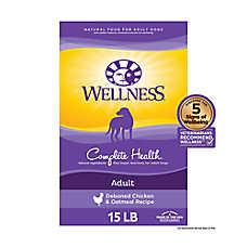 Wellness® Complete Health Adult Dog Food - Natural