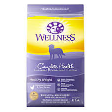 Wellness® Complete Health Healthy Weight Adult Dog Food - Natural, Chicken & Peas