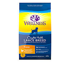 Wellness® Complete Health Large Breed Puppy Food - Natural