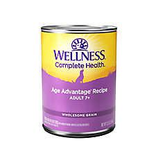 Wellness® Complete Health Senior Dog Food - Natural