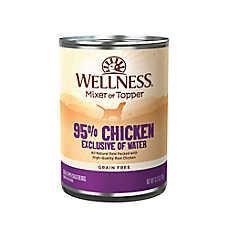 Wellness® Ninety-Five Percent Dog Food - Natural, Grain Free