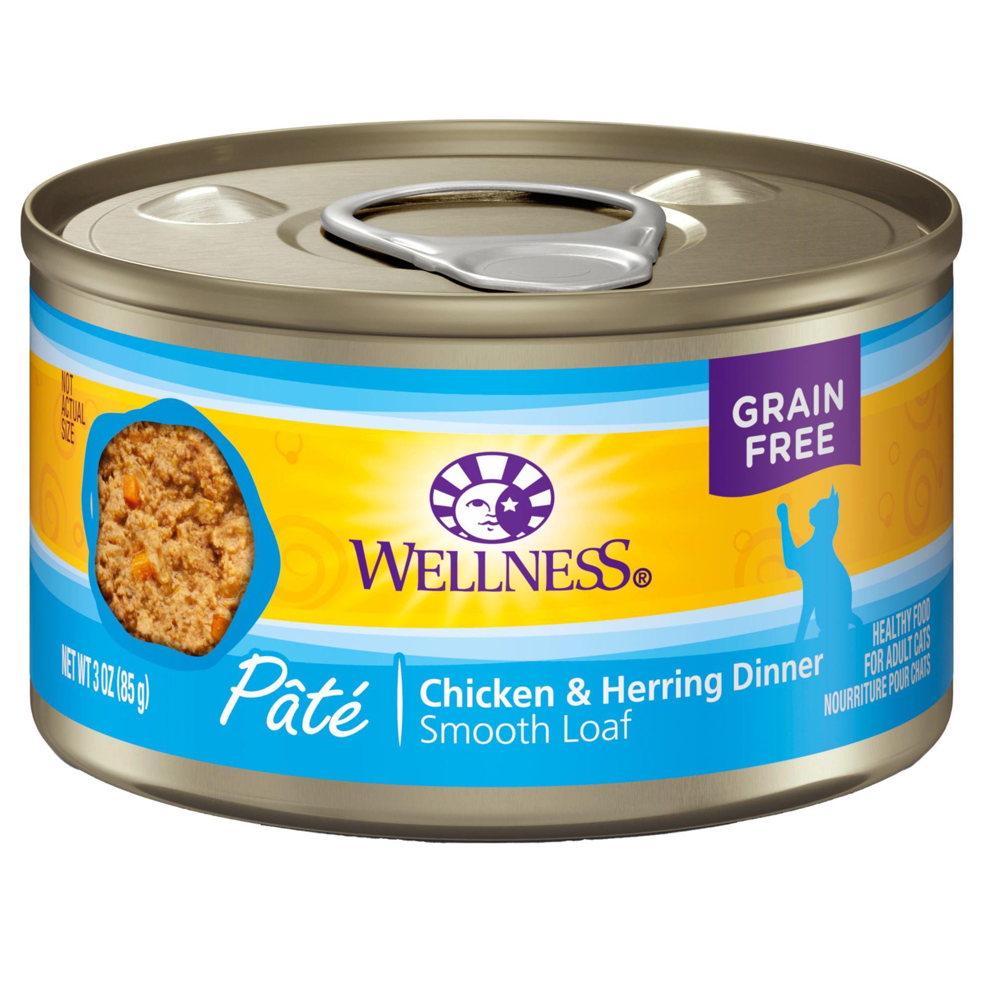 Wellness Complete Health Cat Food Natural Grain Free Pate Cat Wet Food Petsmart