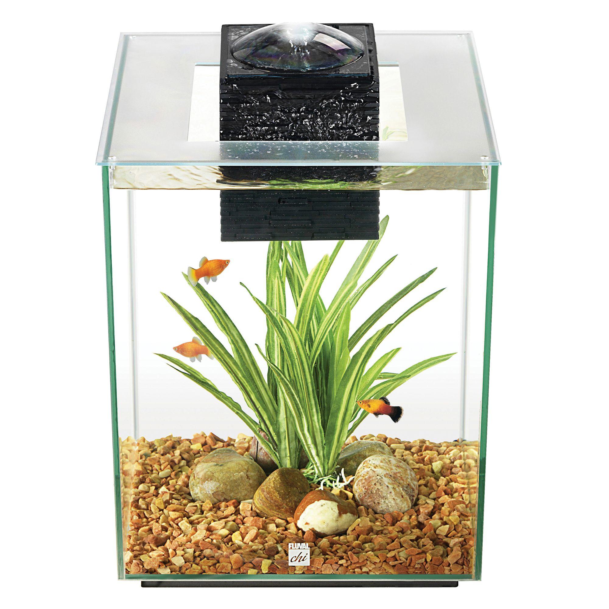 Fluval 5 Gallon Chi Aquarium Kit