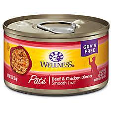 Wellness® Complete Health Cat Food - Natural, Grain Free, Pate