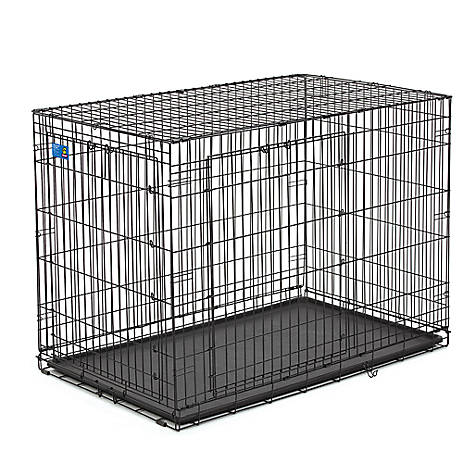 Top Paw Double Door Wire Dog Crate Dog Carriers Crates Petsmart
