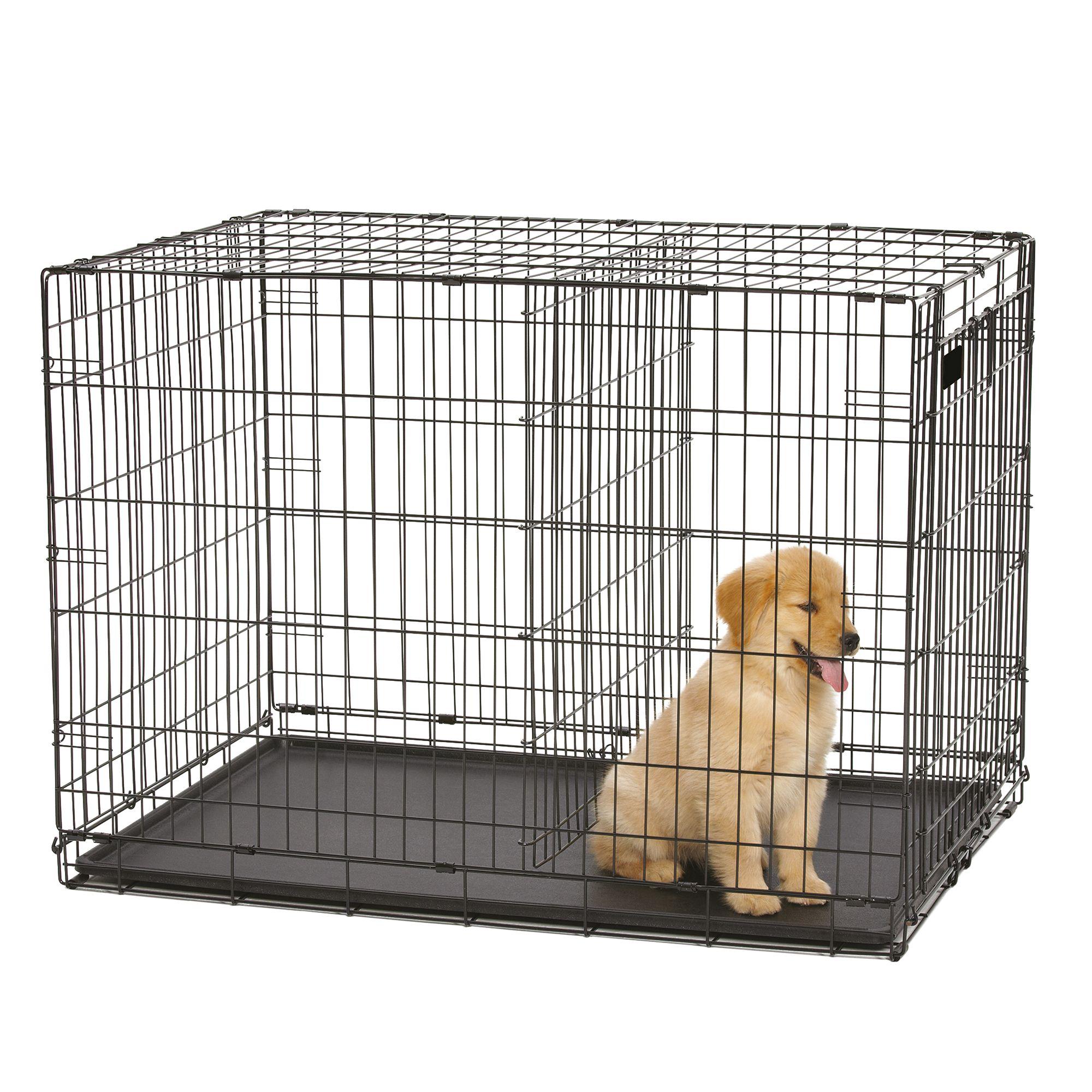36 Inch Wire Dog Crate Double Door
