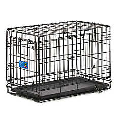 Top Paw® Double Door Wire Dog Crate b2480dca8195