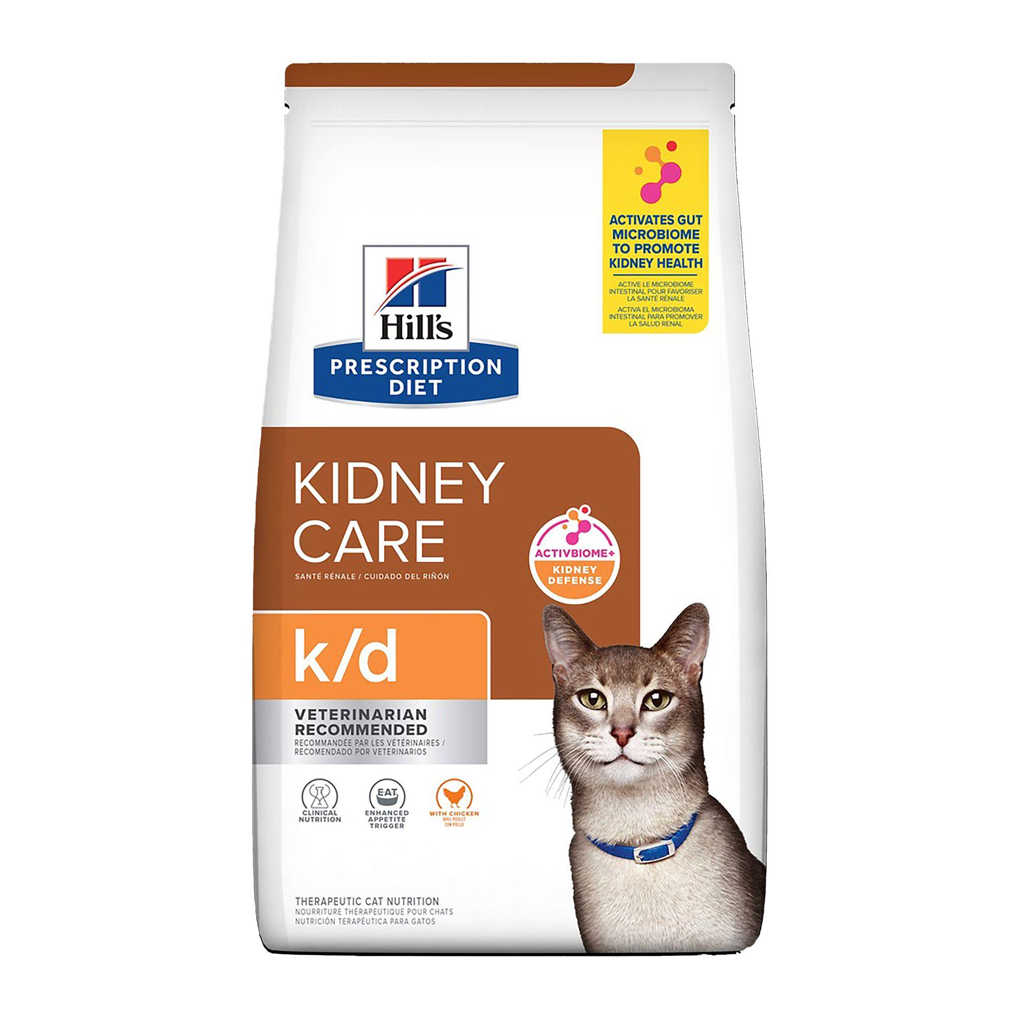 Hill S Prescription Diet K D Kidney Care Cat Food Chicken Cat Veterinary Diets Petsmart