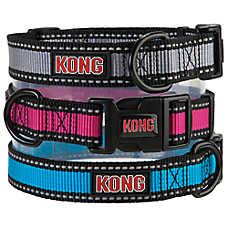 KONG® Reflective Dog Collar